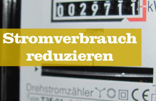 Stromverbrauch Haushalt
