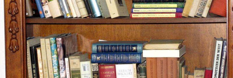 Geld im Bücherregal verstecken