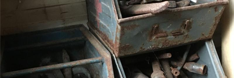 Geld verstecken Garage