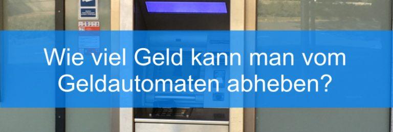 deutsche bank abheben limit
