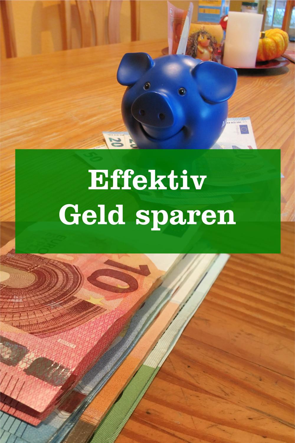 effektiv Geld sparen