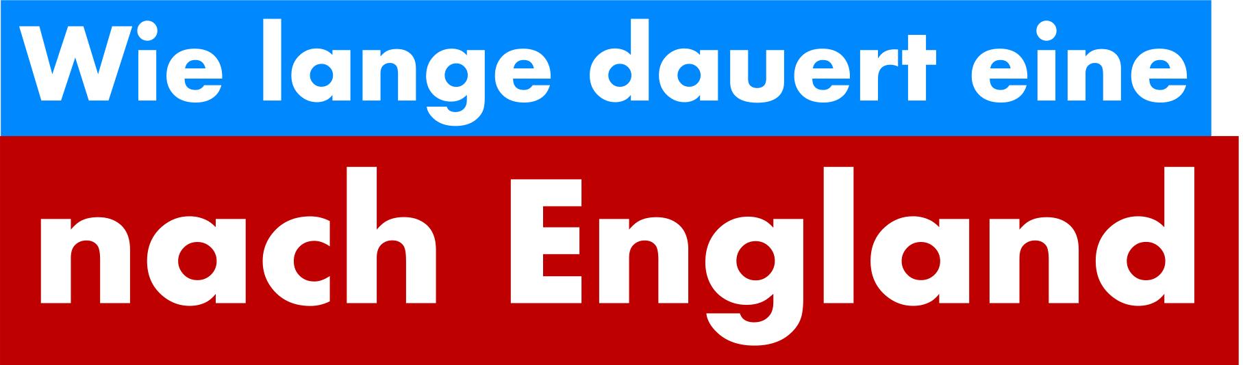 Dauer Überweisung England