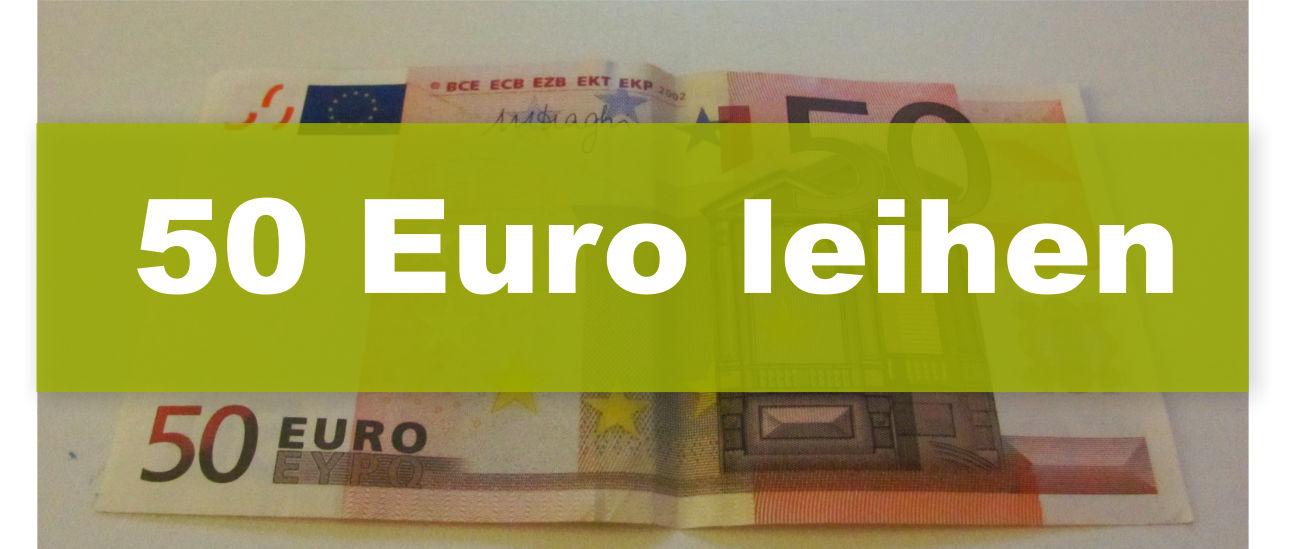 50 Euro leihen