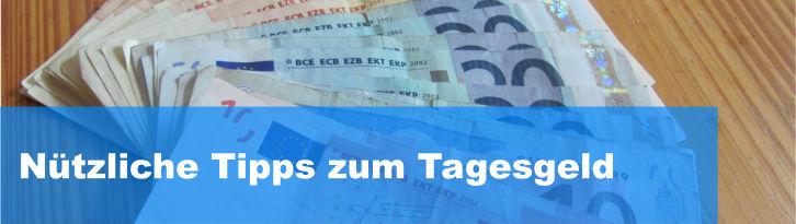 Tipps Tagesgeld