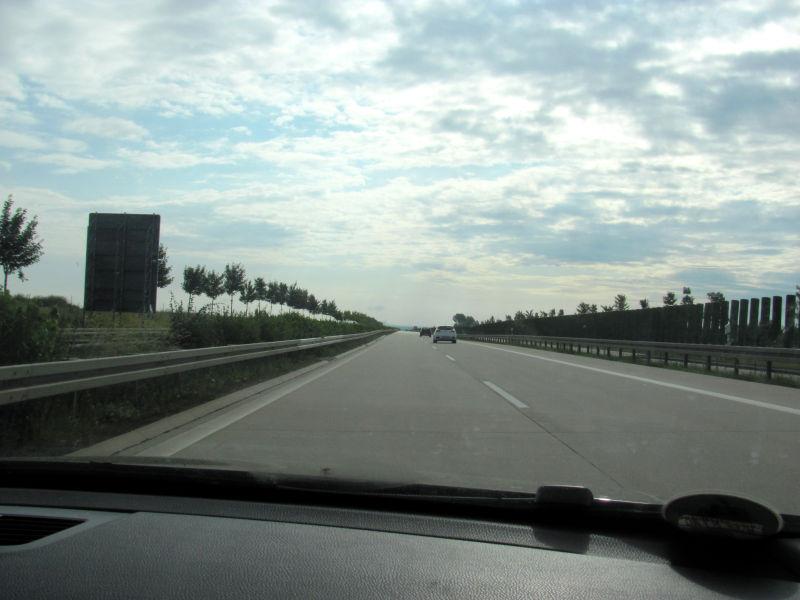 Fahrt linke Spur