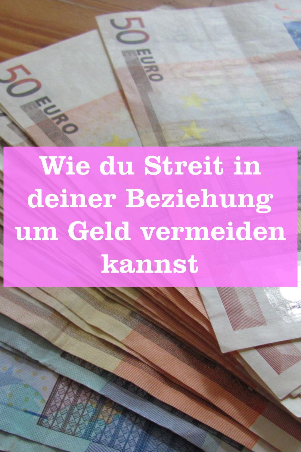 Streit Beziehung Geld