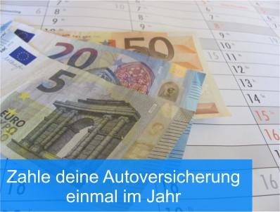 Autoversicherung bezahlen