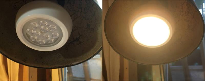 Geld sparen Licht