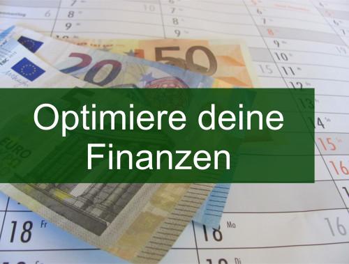 Finanzen optimieren