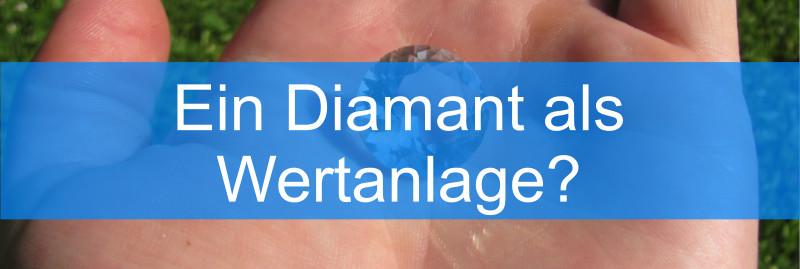Diamant als Wertanlage