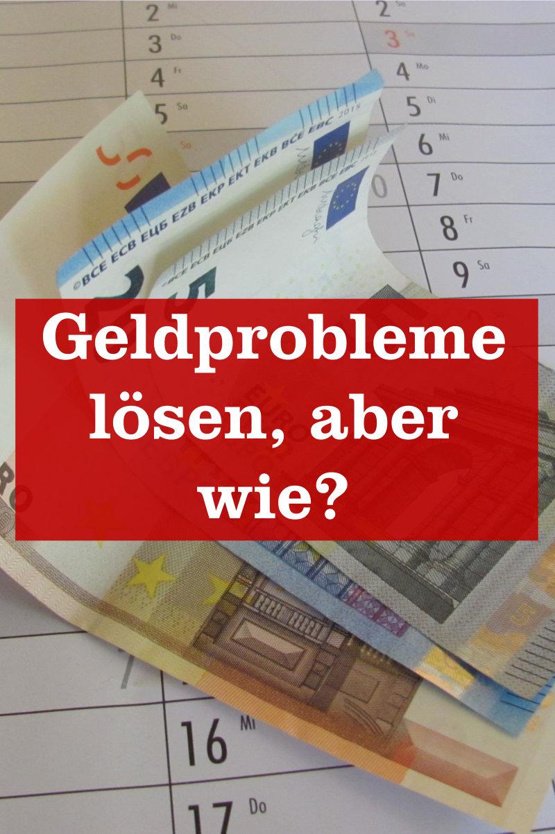 Geldprobleme lösen