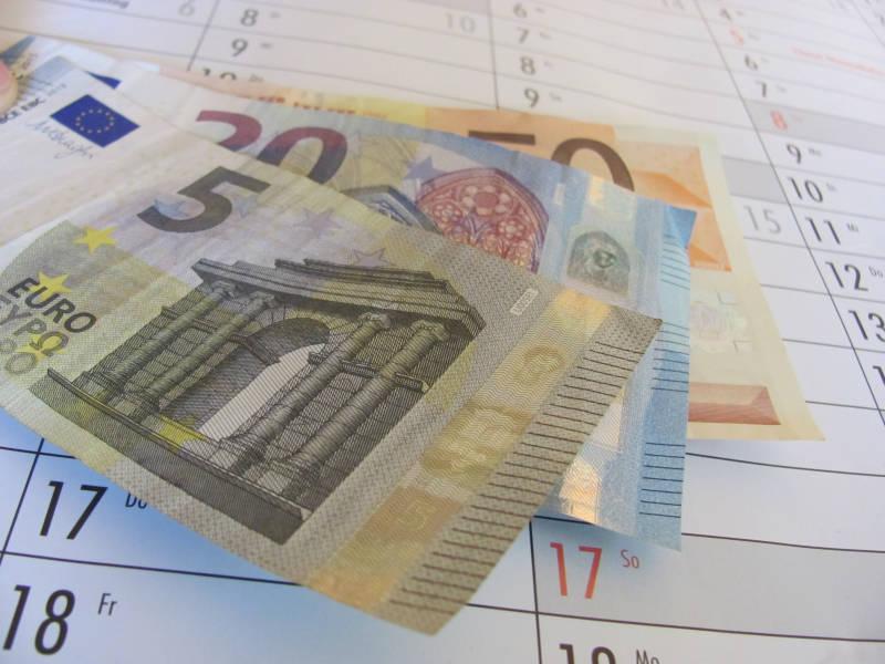 Geld im Jahr sparen
