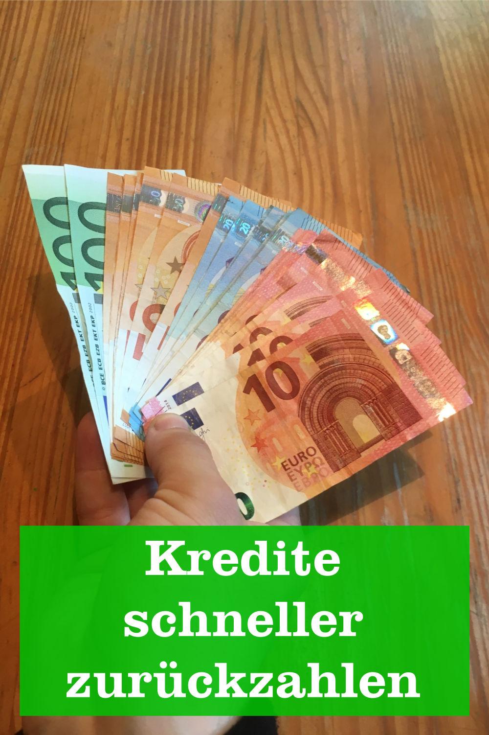 Kredite schneller zurückzahlen
