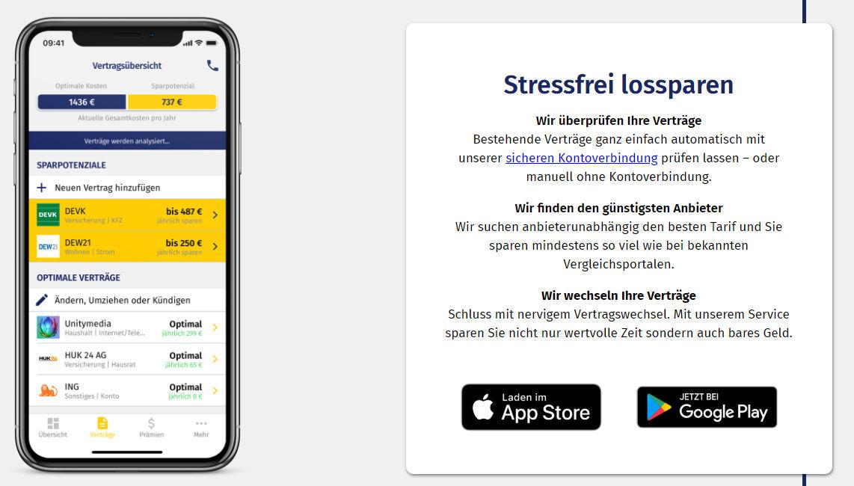 Geldspeicher App