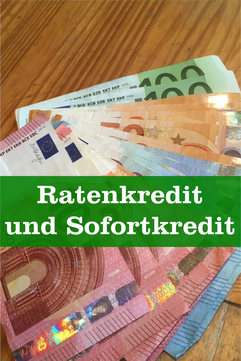 Ratenkredit und Sofortkredit