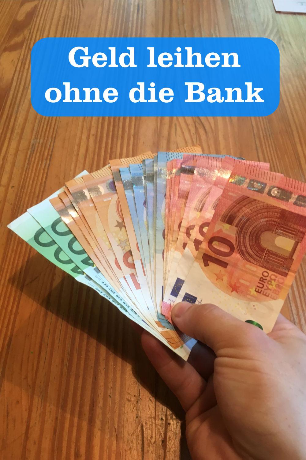 Geld leihen ohne Bank