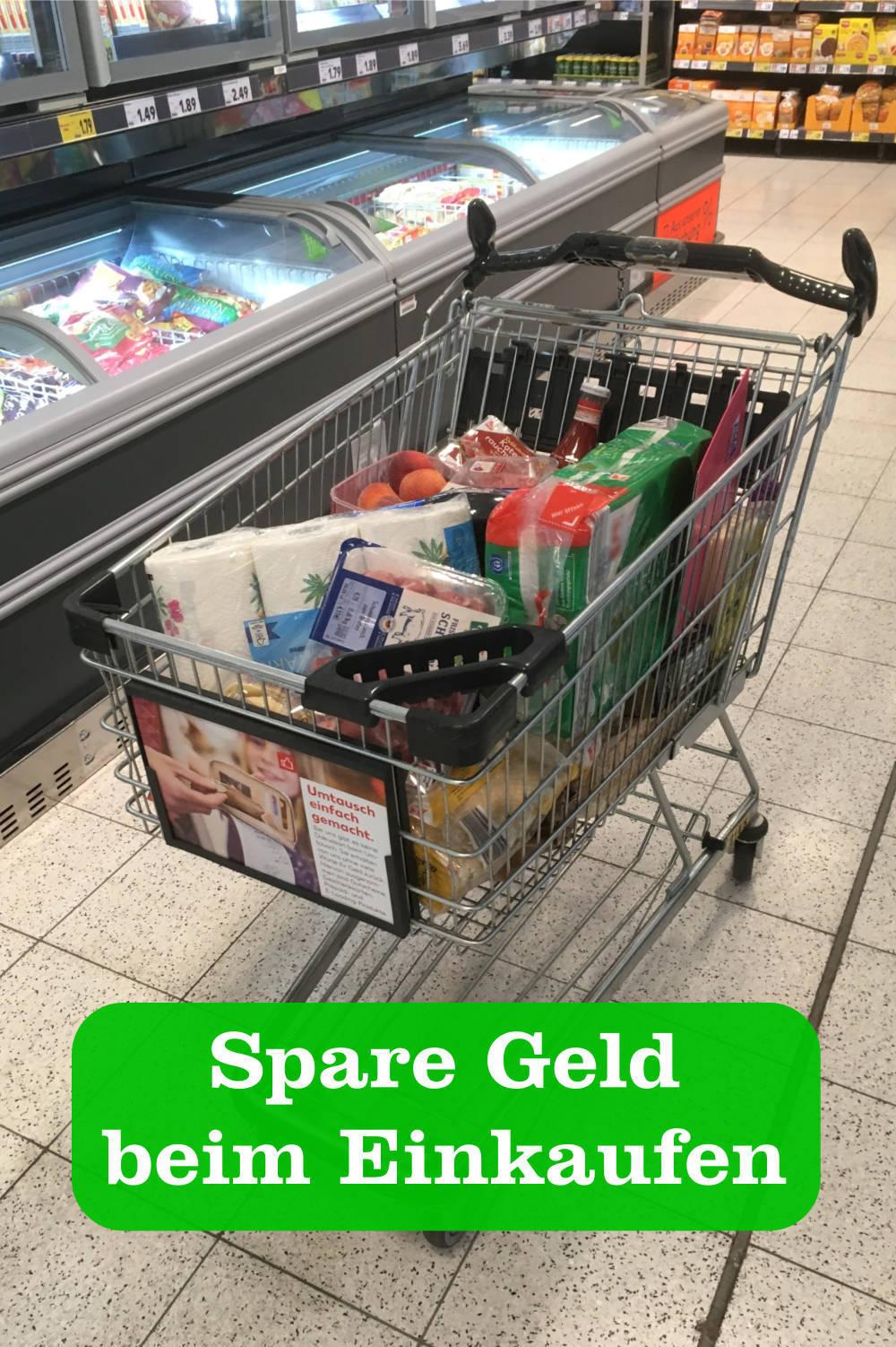 50 Euro sparen beim Einkaufen