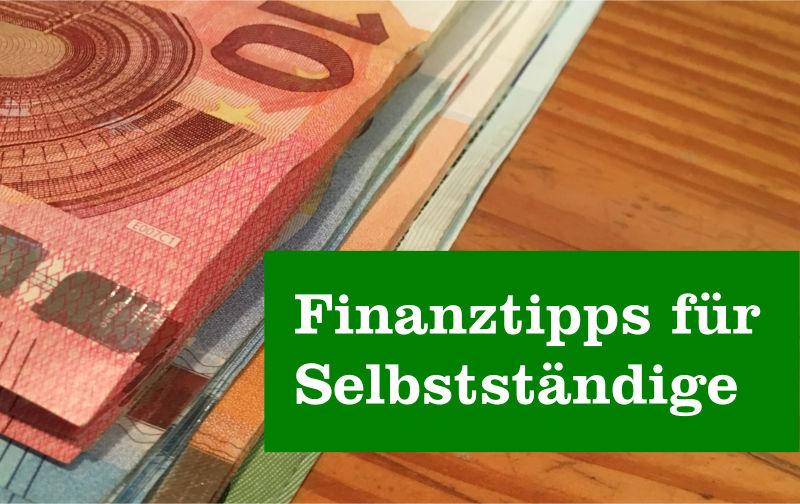 Finanztipps Selbstständige