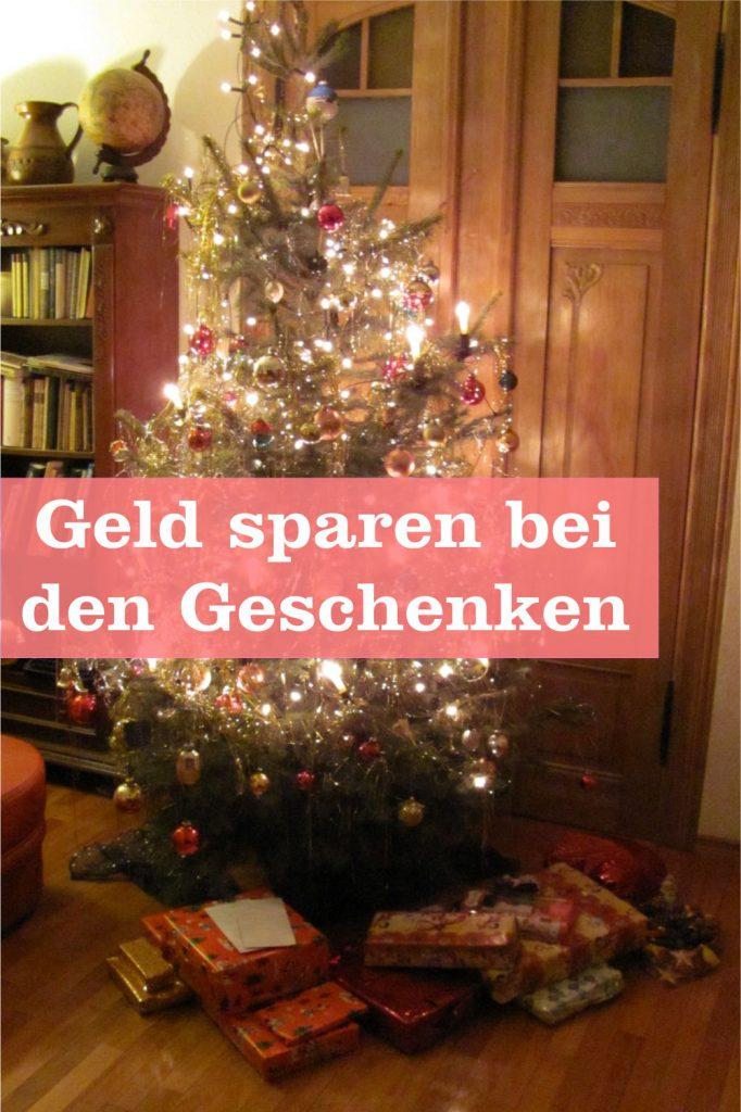 Geld sparen Weihnachten