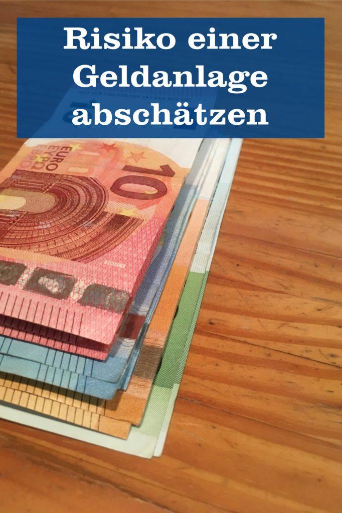 Geldanlage Risiko