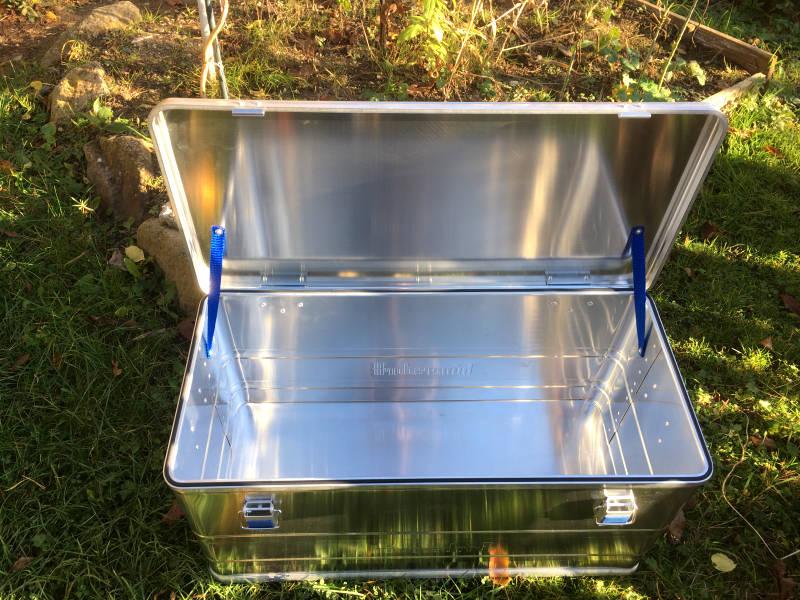 Kiste aus Aluminium