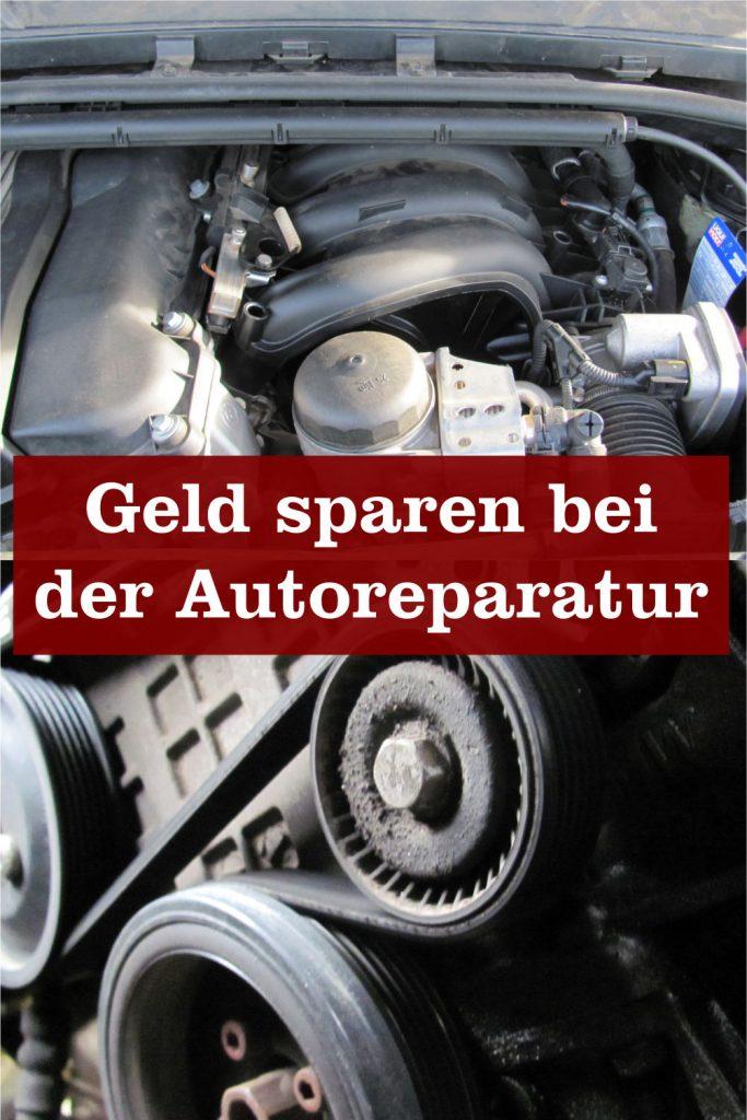 Geld sparen Autoreparatur