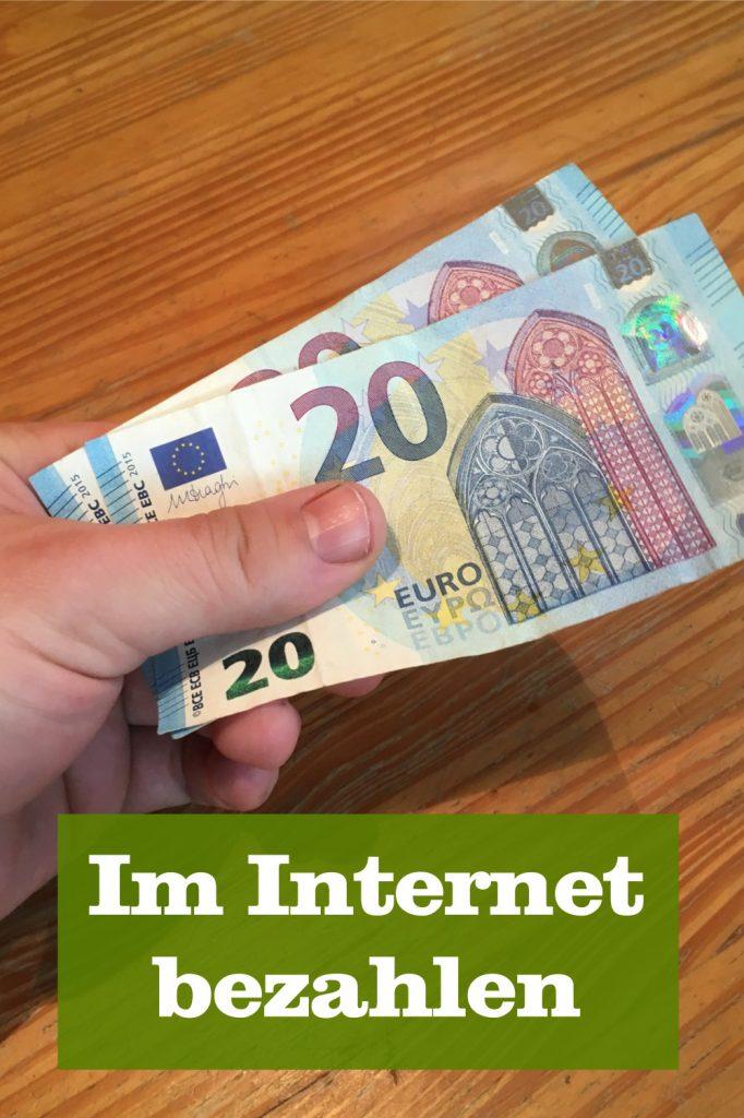 Im Internet bezahlen